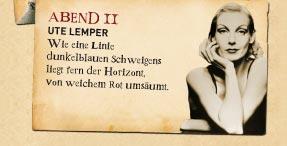Ute Lemper